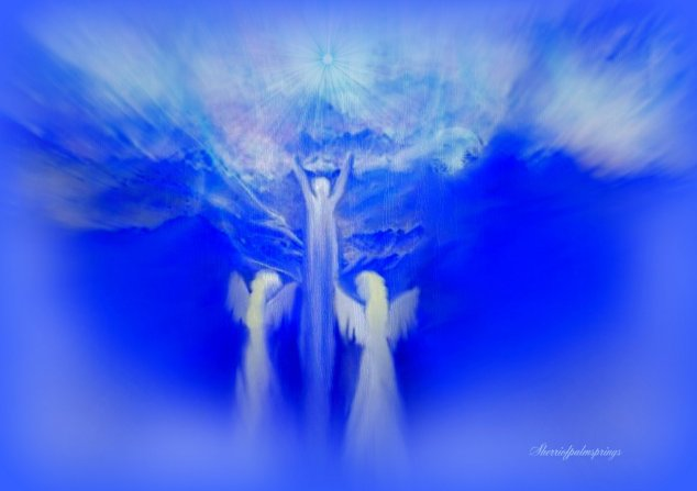 Angels Escorting Loved Ones To Heaven