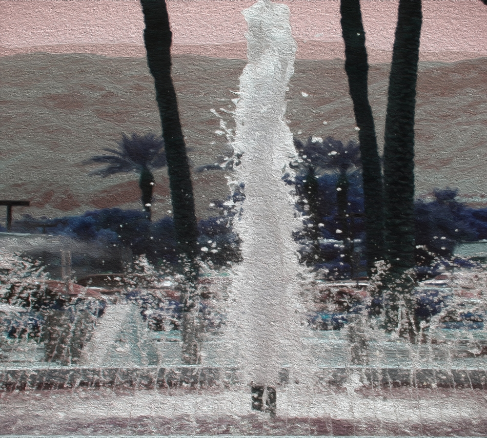 fountain for banner