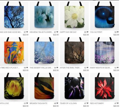 Sherri's Collection Of Winter Tote Bags