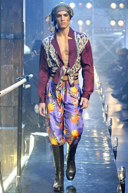John Galliano AW1112 Menswear