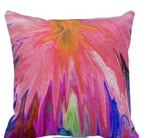 pillow for weeping flowe