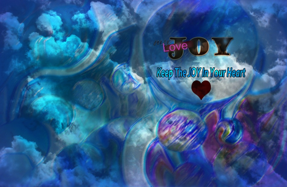 keep the joy in your heart 3 blue