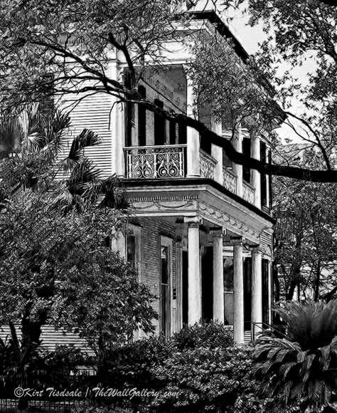 Southern Colonial Home