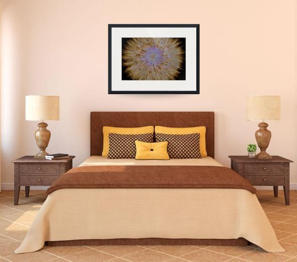 Psychedelic Dandelion Art Print