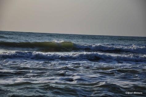 waves at black sea