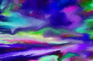 Intensity Of The Universe by Sherri Of Palm Springs -Artist